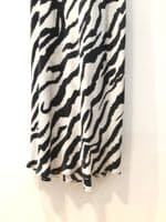 All Saints zebra print maxi cami dress size S 31/2027/a/cb